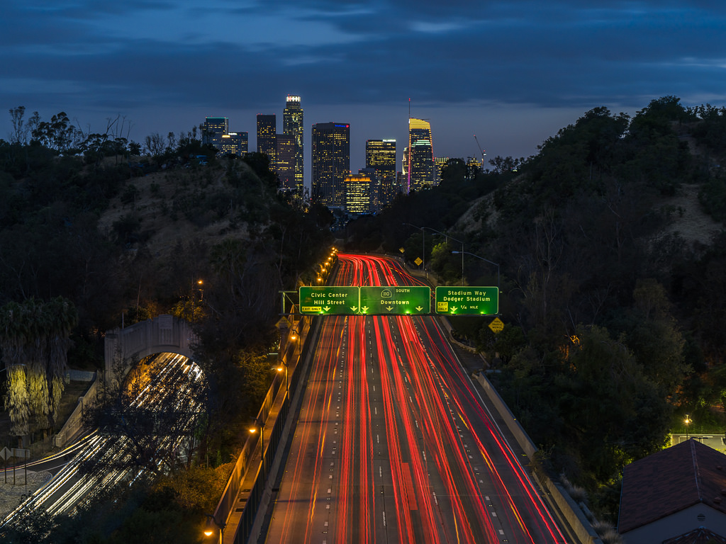 LA's Most Improved Evening Commutes
