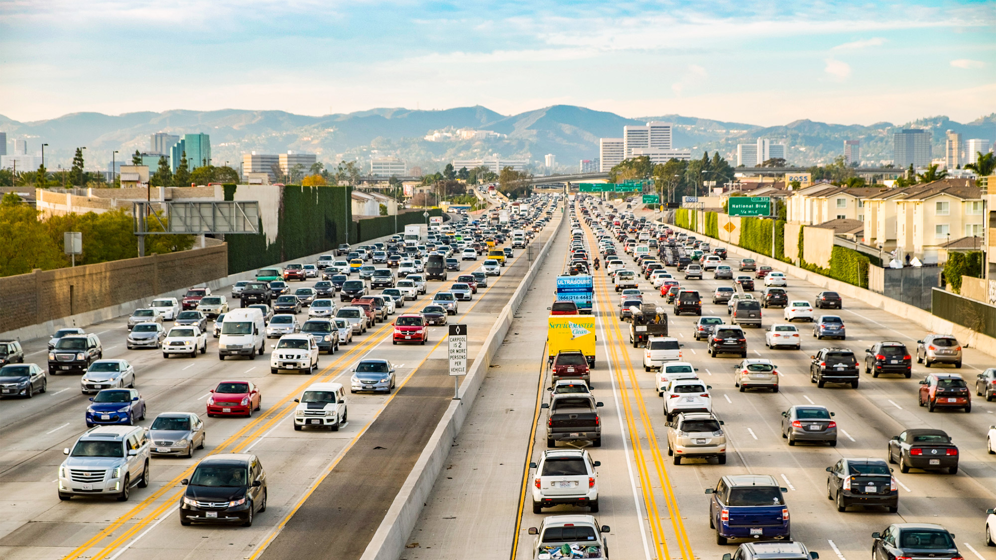 LA's Most Improved Morning Commute