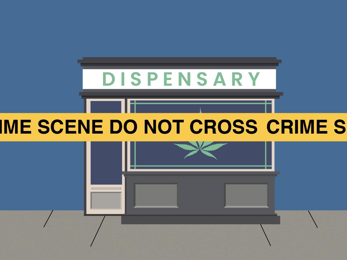 crime at marijuana dispensaries