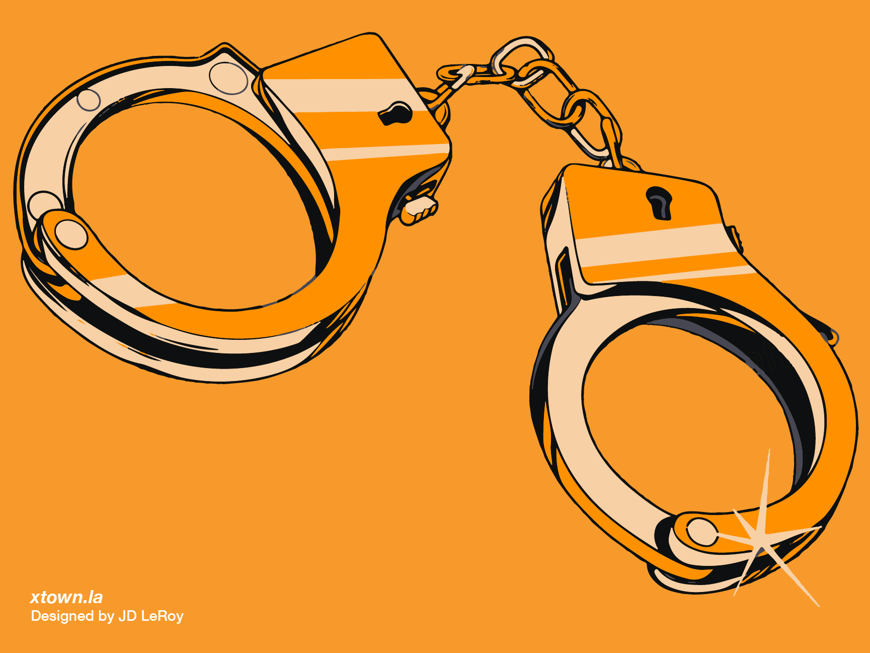 Handcuffs illustration