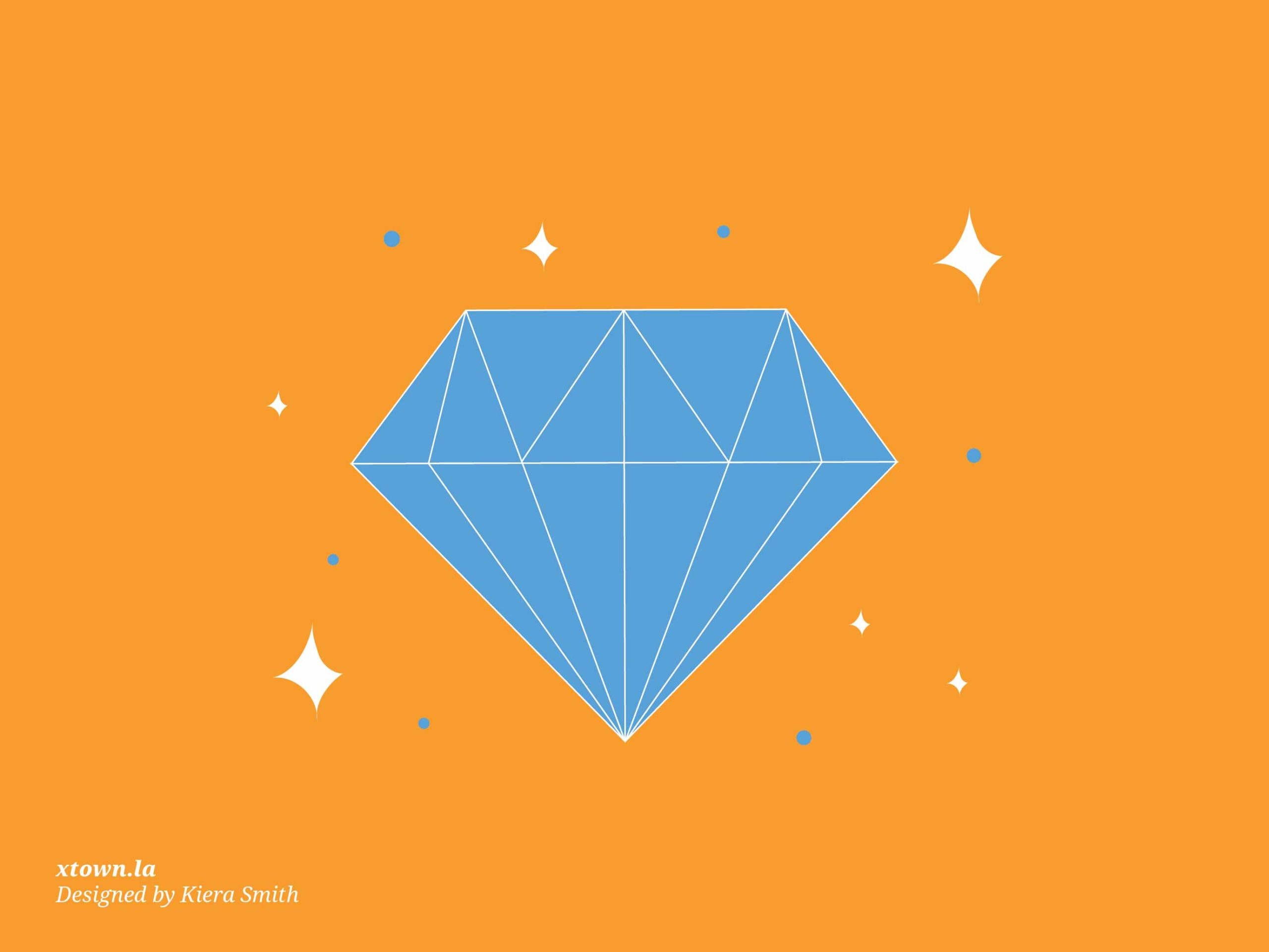 illustration of a diamond