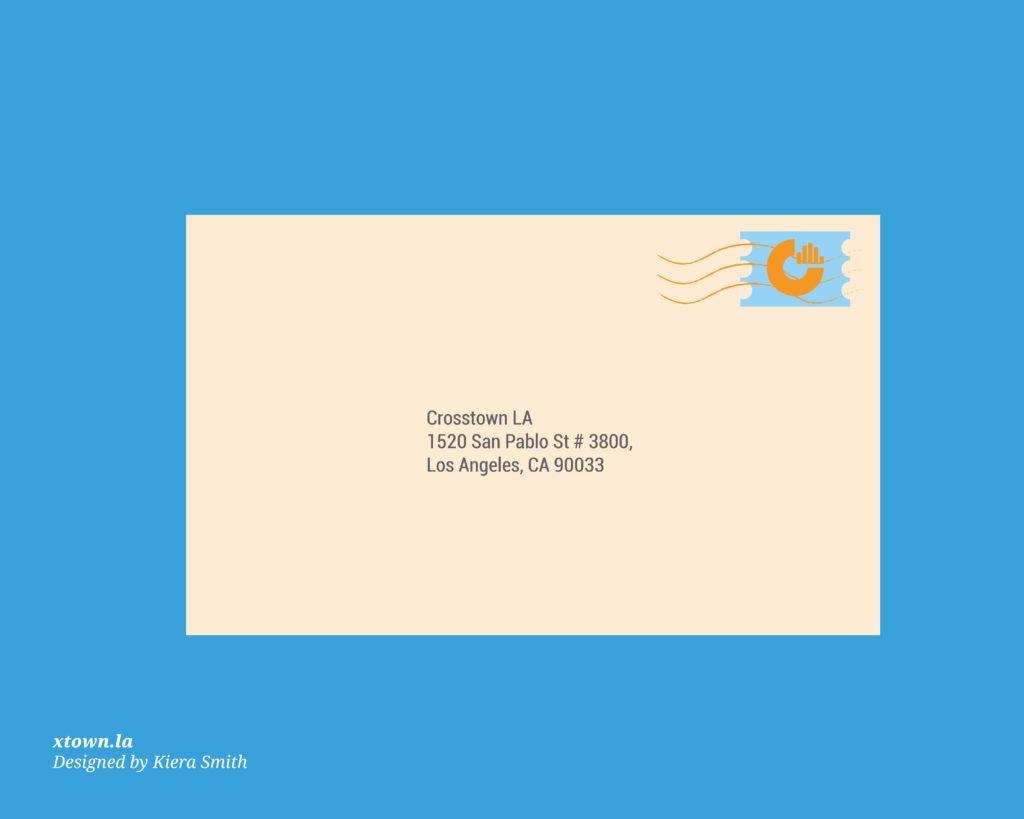 letter to crosstown illustration
