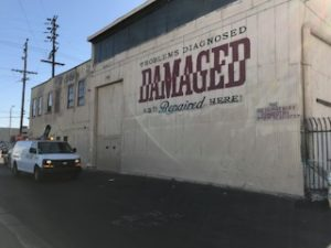 After graffiti removal image