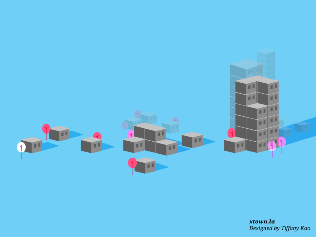 Illustration of different housing types