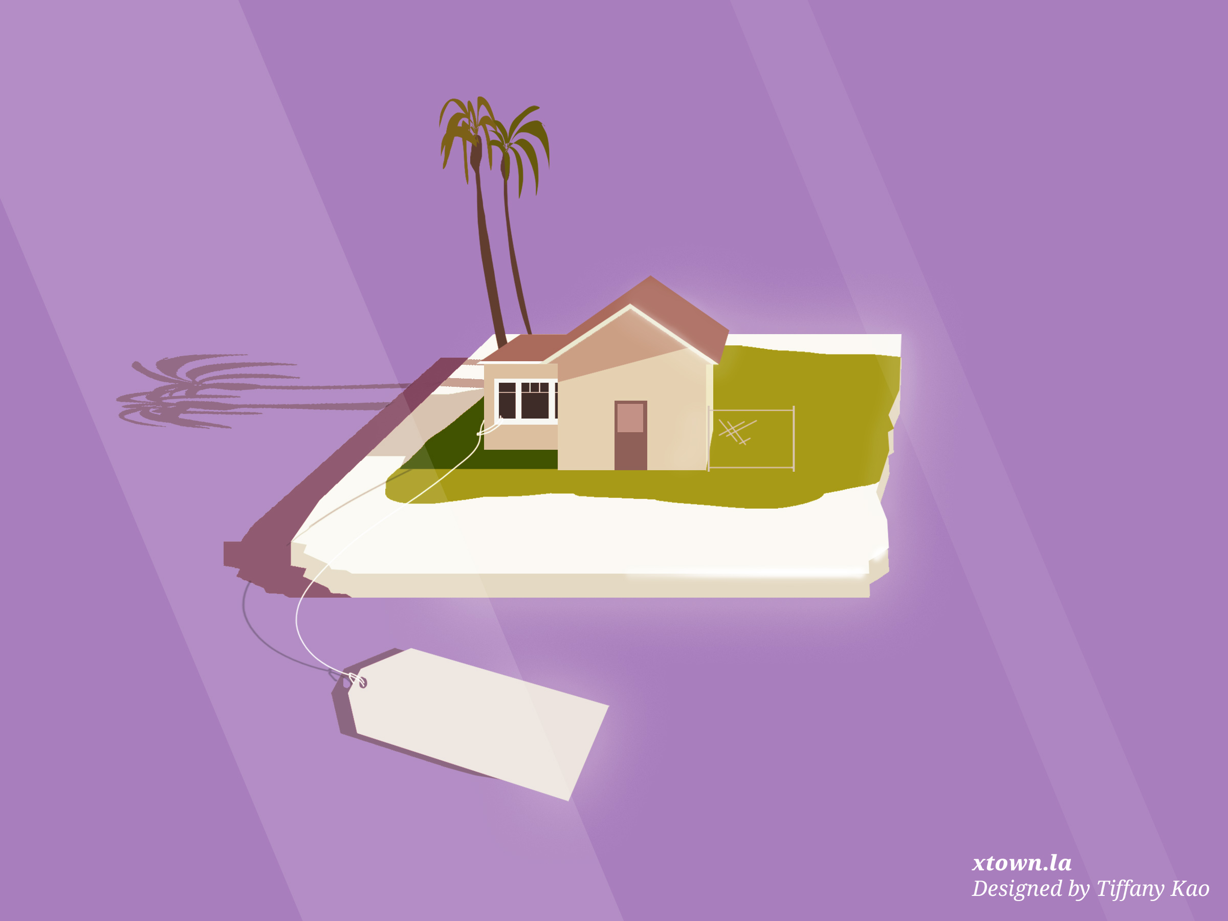Illustration of Los Angeles's rising housing market