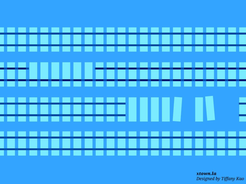 Illustration of train tracks