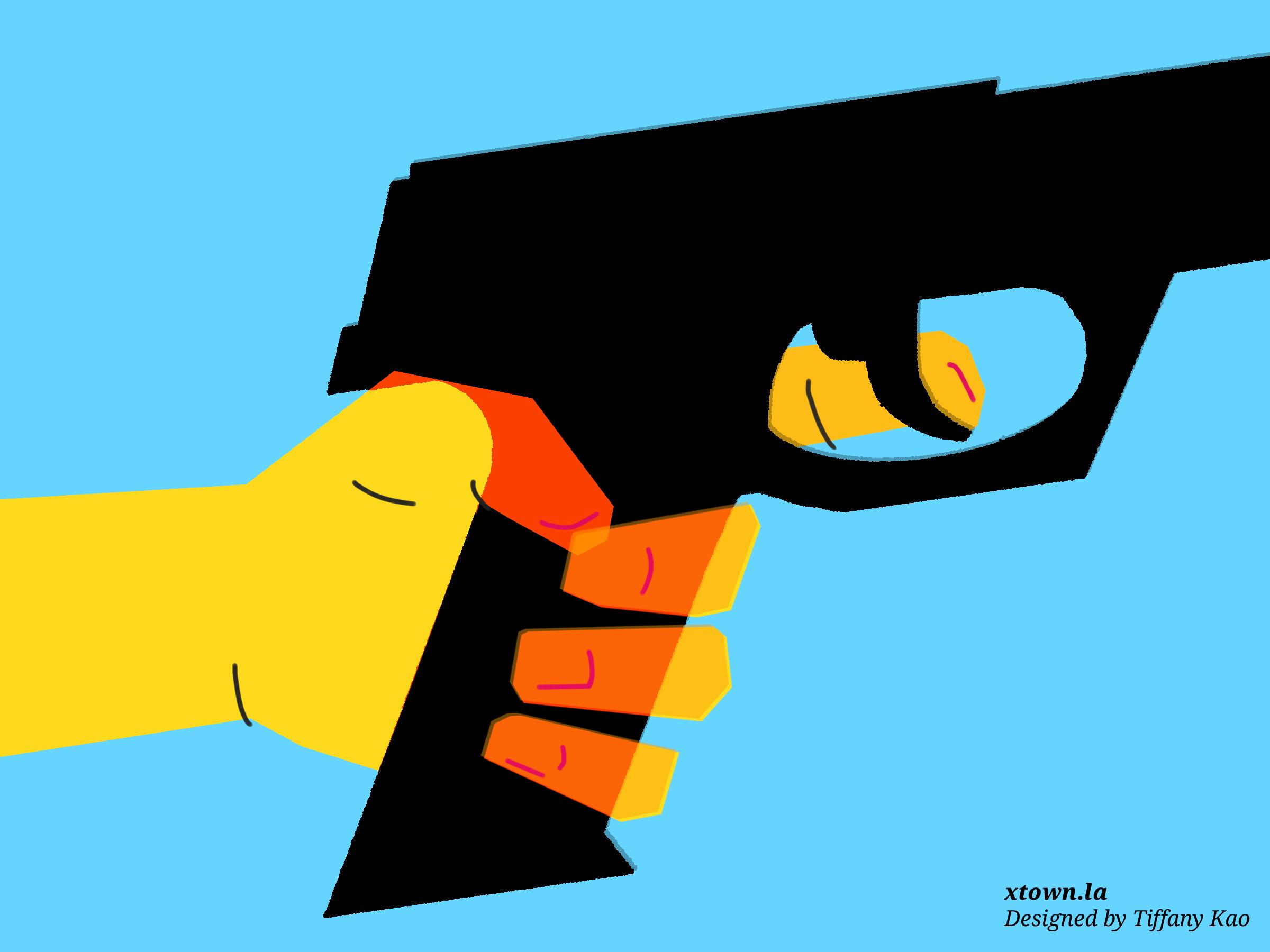 Handgun illustration